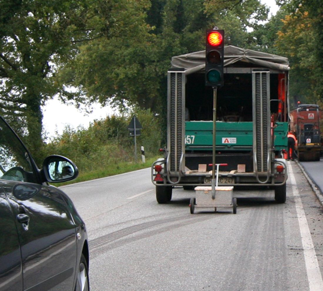 Radweg bei Röbel