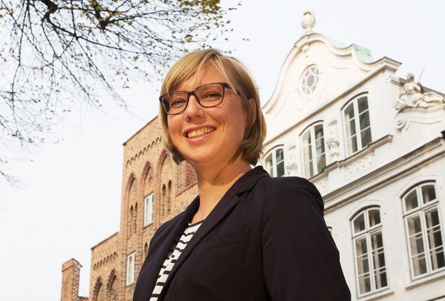 Dr. Birte Lipinski, Leiterin des Buddenbrookhauses in Lübeck.