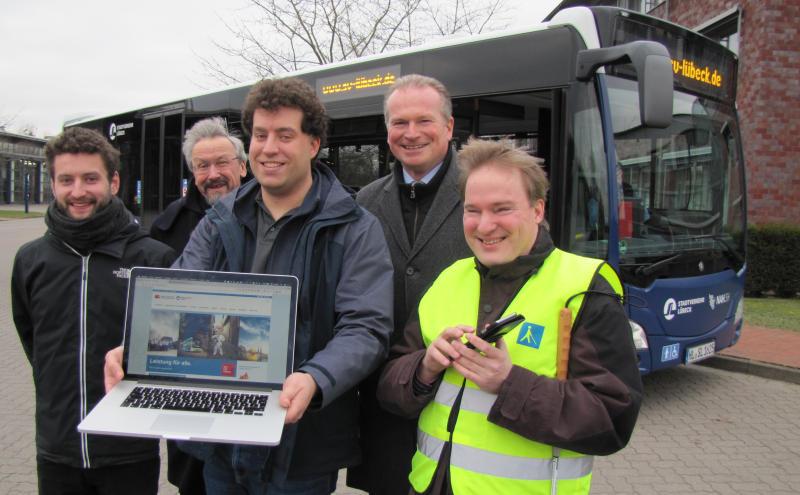 Stadtverkehr-App für Sehbehinderte