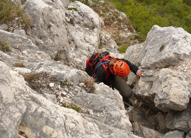 Welcher Klettergurt Für Klettersteig : Die gardasee voralpen u2013 ein eldorado für klettersteige