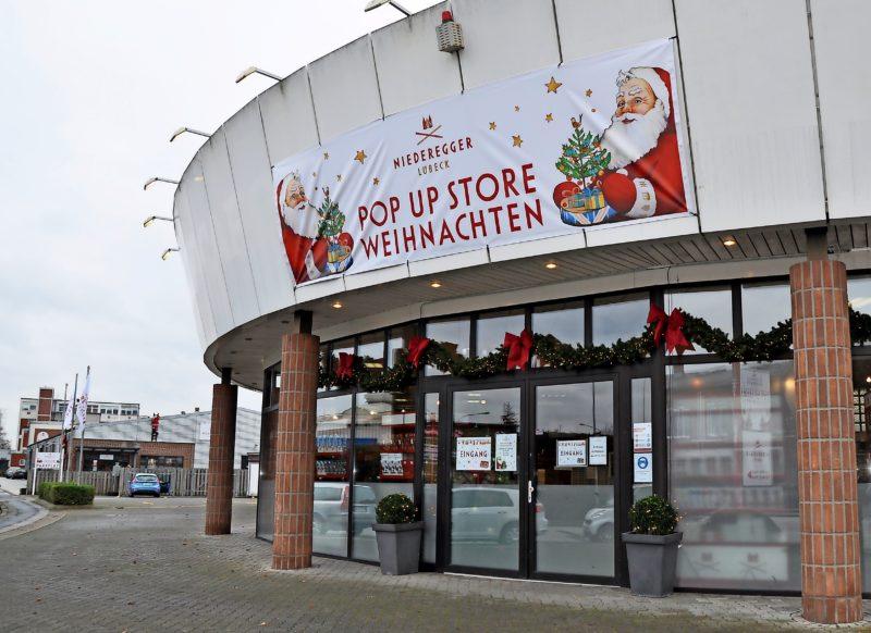 Für den entspannten Weihnachtseinkauf erweitert Niederegger jetzt sein Verkaufsangebot. Seit Mittwoch gibt es in Genin einen Pop-up-Store.