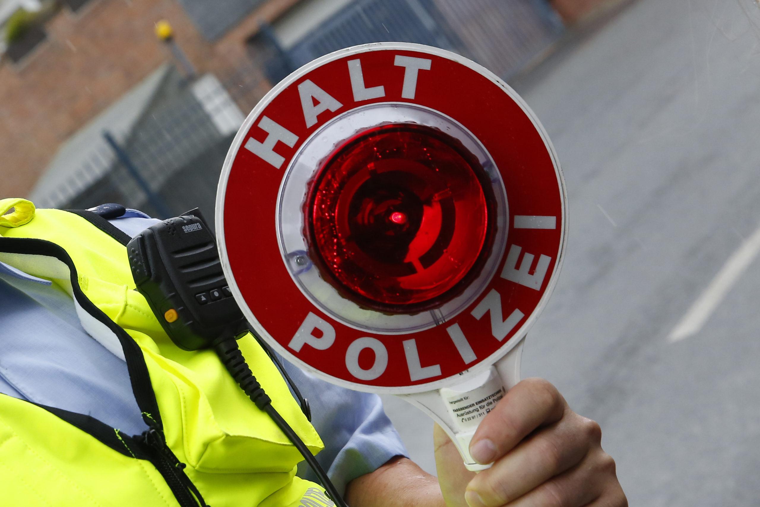 Polizei Kontrolle Lübeck Radfahrer