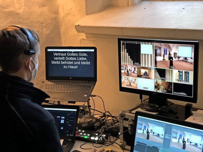 Während der Corona-Pandemie feiert der Kirchenkreis Lübeck-Lauenburg sein Gottesdienstangebot digital, via Internet, TV und Radio