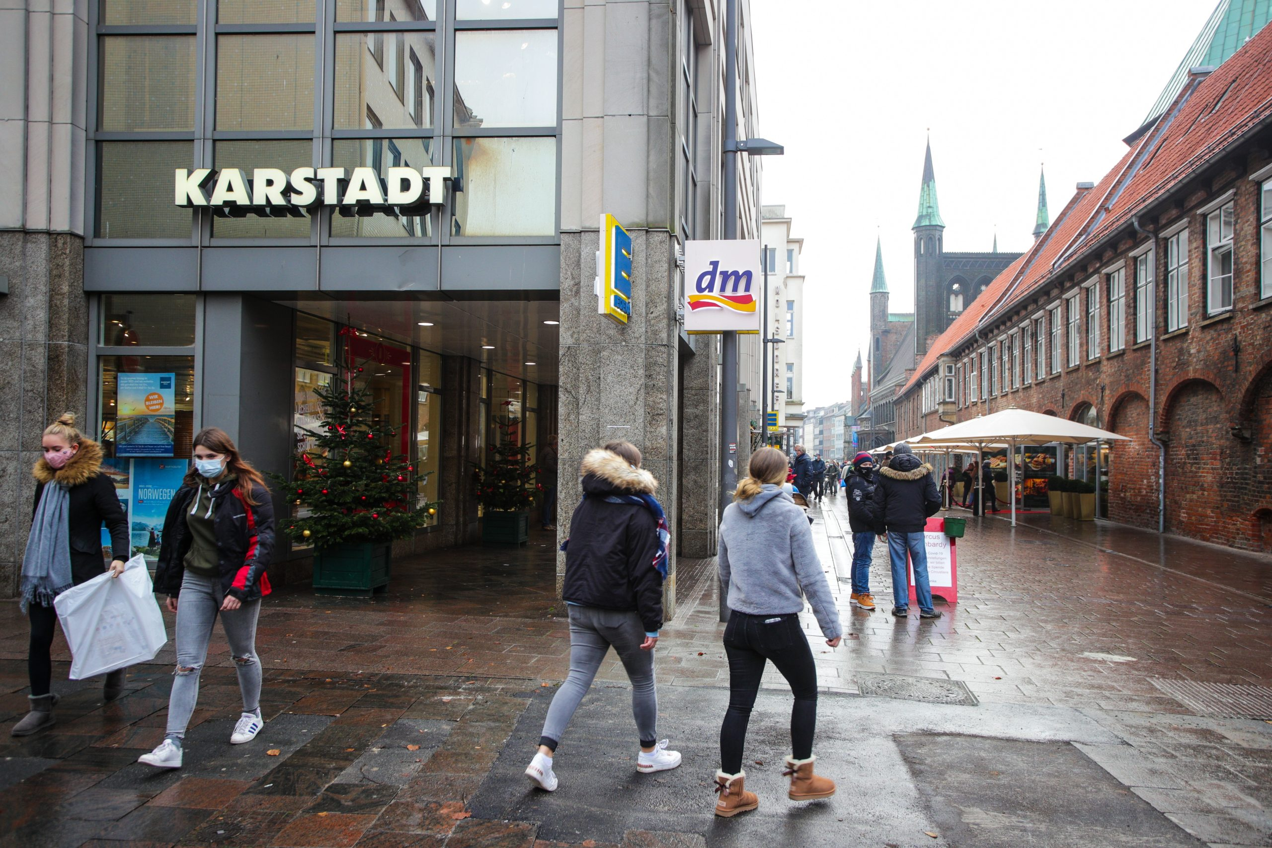 Karstadt Lübeck Rettung Innenstadt