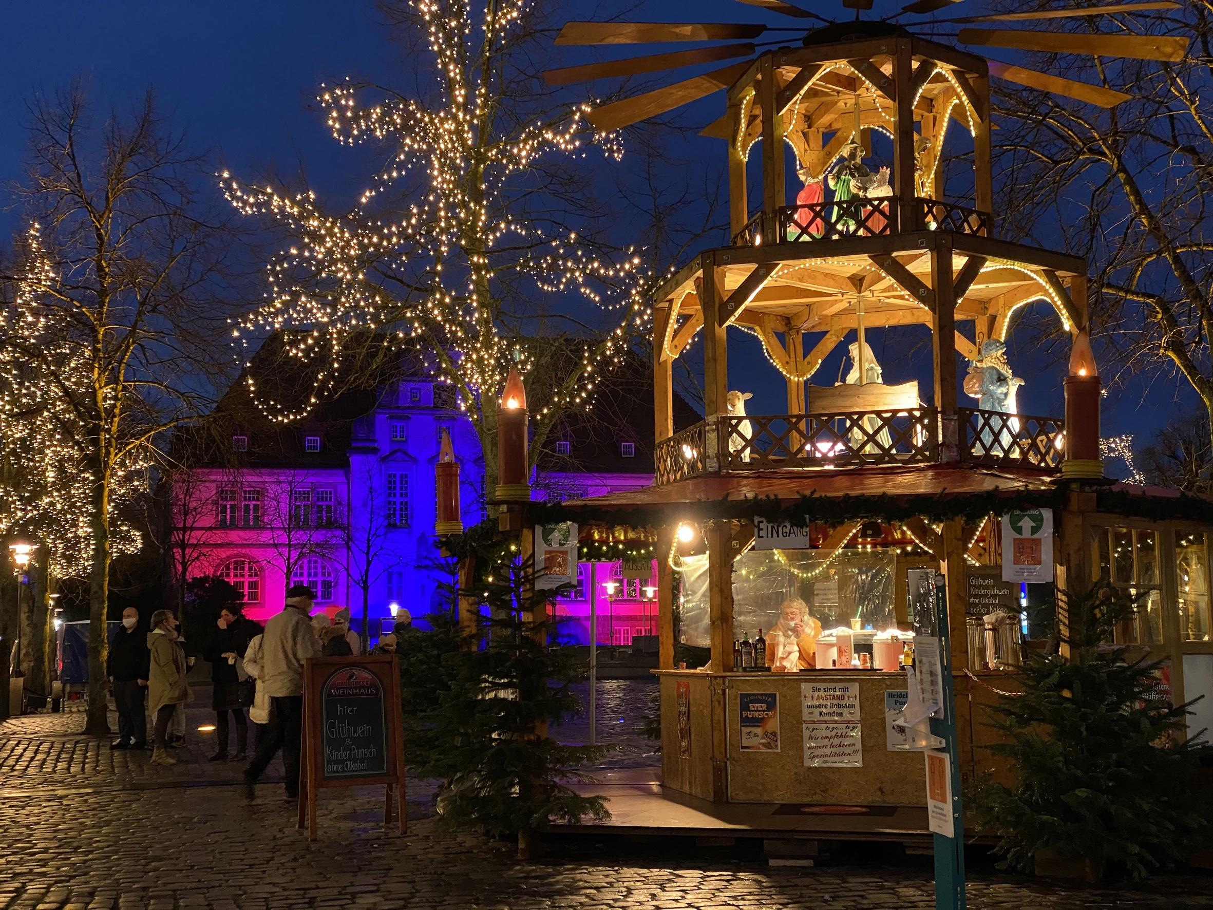 Weihnachtsmarkt Kiel 2021