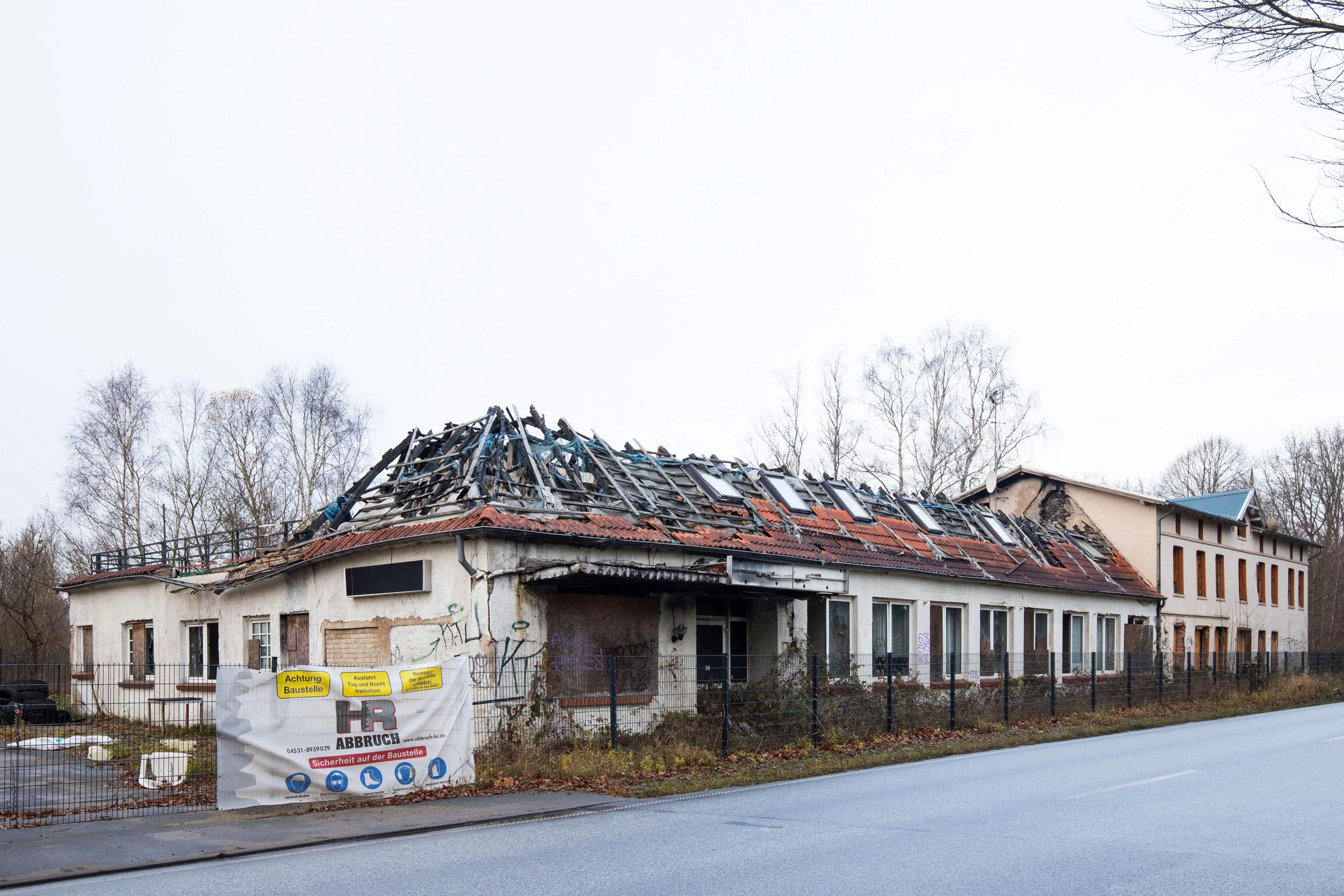 Einst war hier der gesellschaftliche Mittelpunkt von Kücknitz zu finden, heute bietet es einen traurigen Anblick: Das ehemalige Memory.