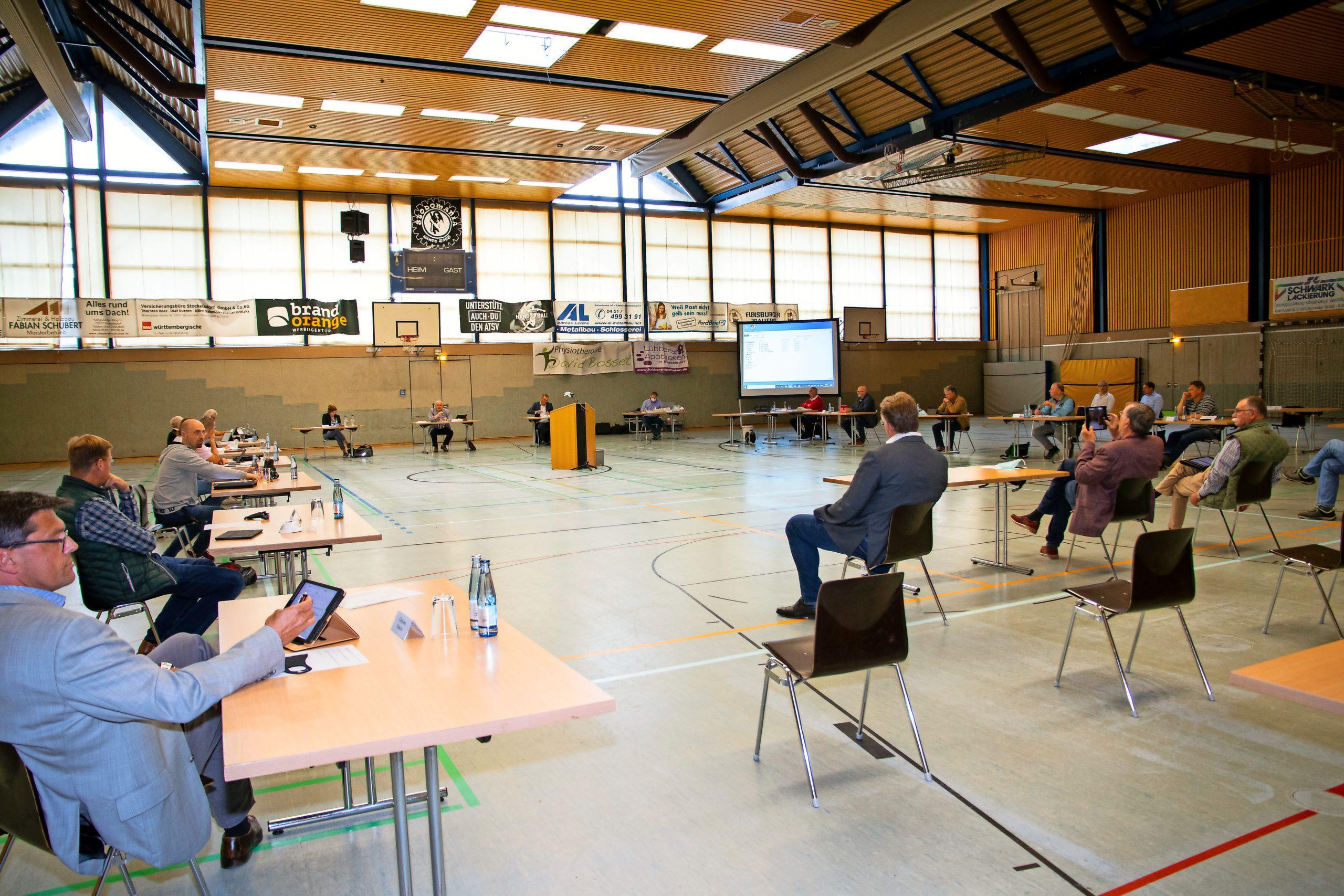 Politik Stockelsdorf UBPöS Sitzung