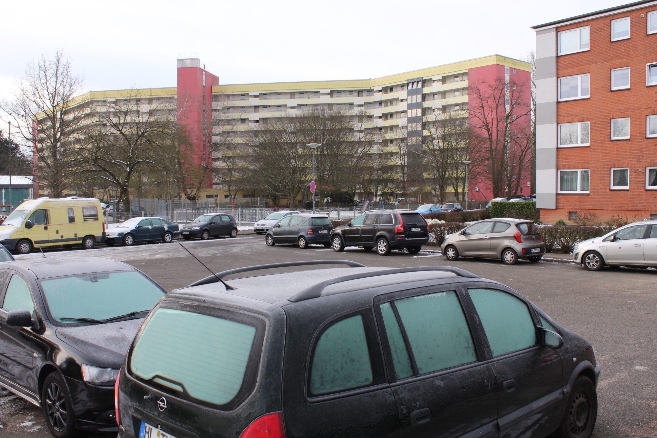 Klipperstraße Parkplätze Ordnungsdienst Lübeck