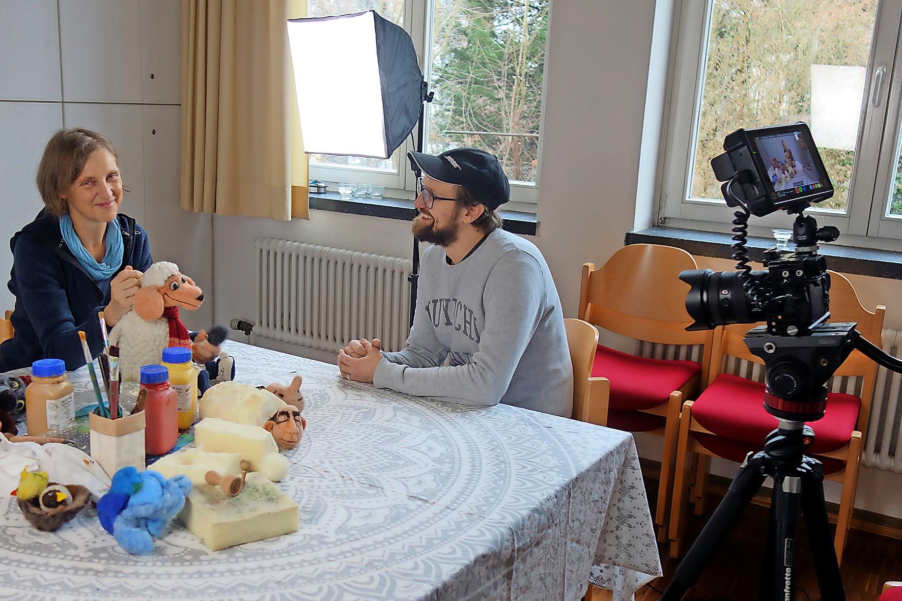 """Der """"Wertekompass"""" Kulturfunken von Filmemacher Mathias Hollaender soll positive Geschichten in den Fokus stellen."""