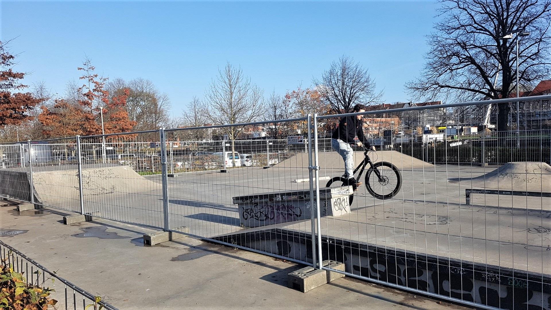 Skaterbahn Lübeck geschlossen