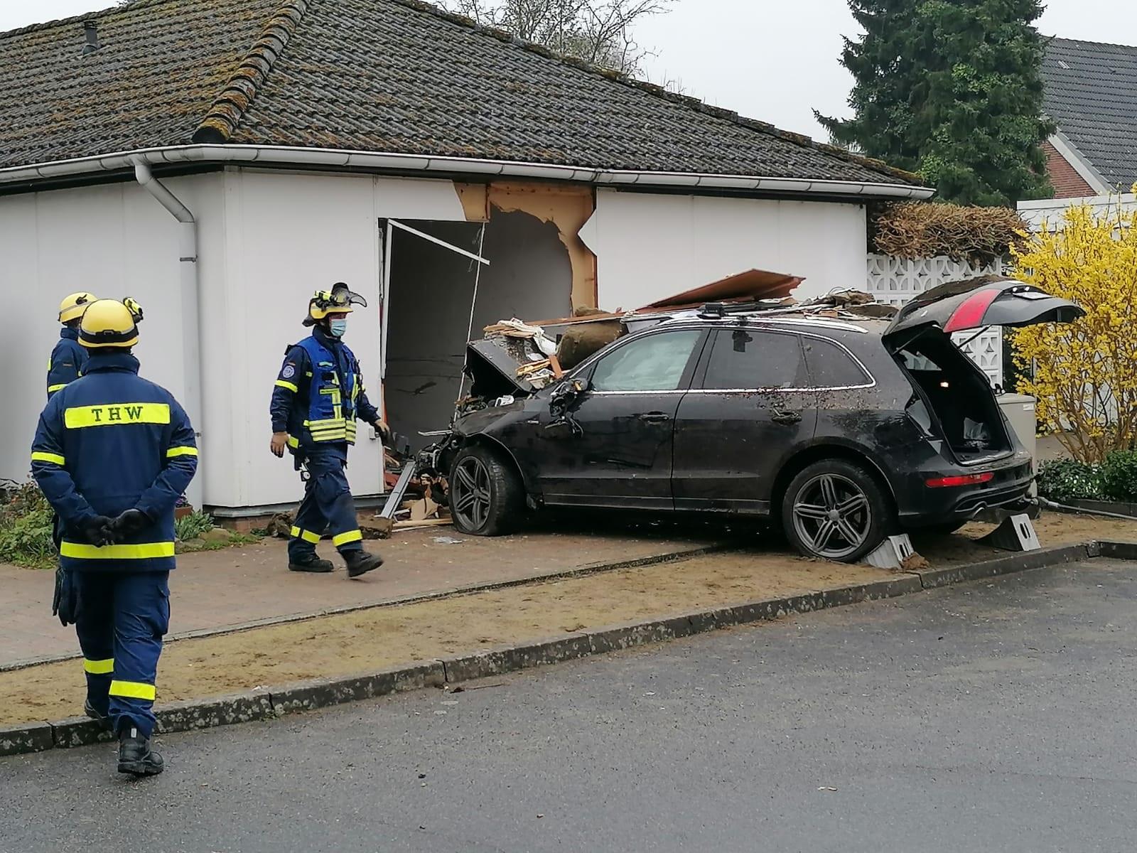 Auto Ratekau Bungalow Suizidversuch