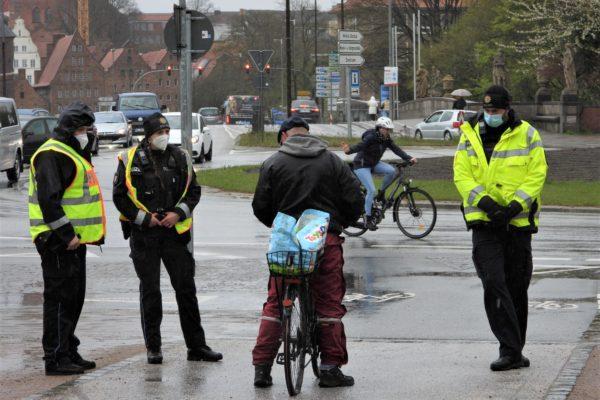 Polizei Fahrradkontrollen Lübeck