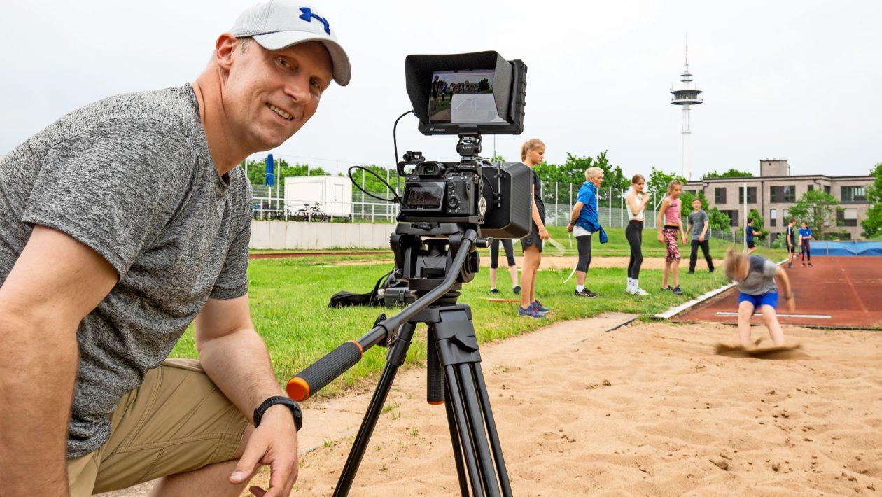 """Der ATSV hat einen Motivationsfilm für alle seine Sportler im Verein drehen lassen. Unter dem Titel """"Zurück im Training – Zurück im Leben"""""""