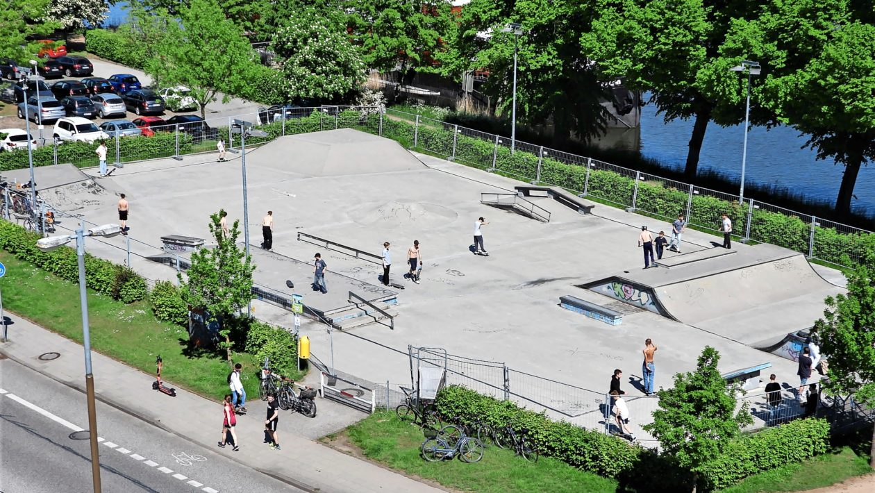 Skatepark Kanalstraße Lübeck