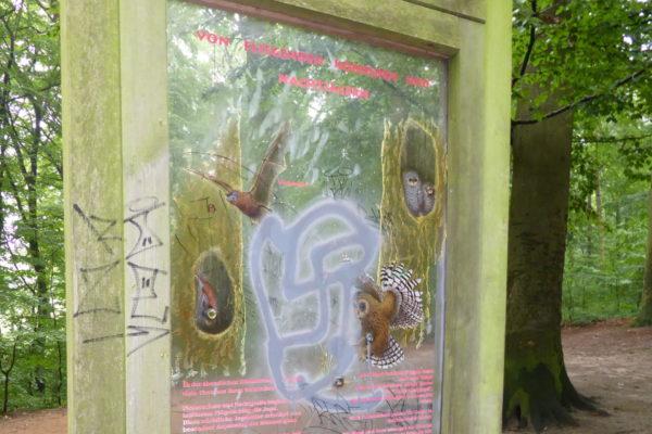 Bad Schwartau Vandalismus Naturerlebnisweg