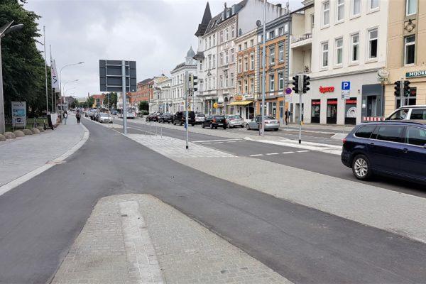 Gehwege Radwege Lübeck sanieren