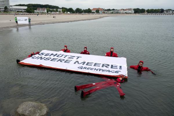 Greenpeace Ostsee Travemünde