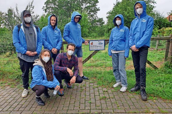 In diesen Wochen wird in Bad Schwartau eine Mitglieder-Werbeaktion des NABU durchgeführt.