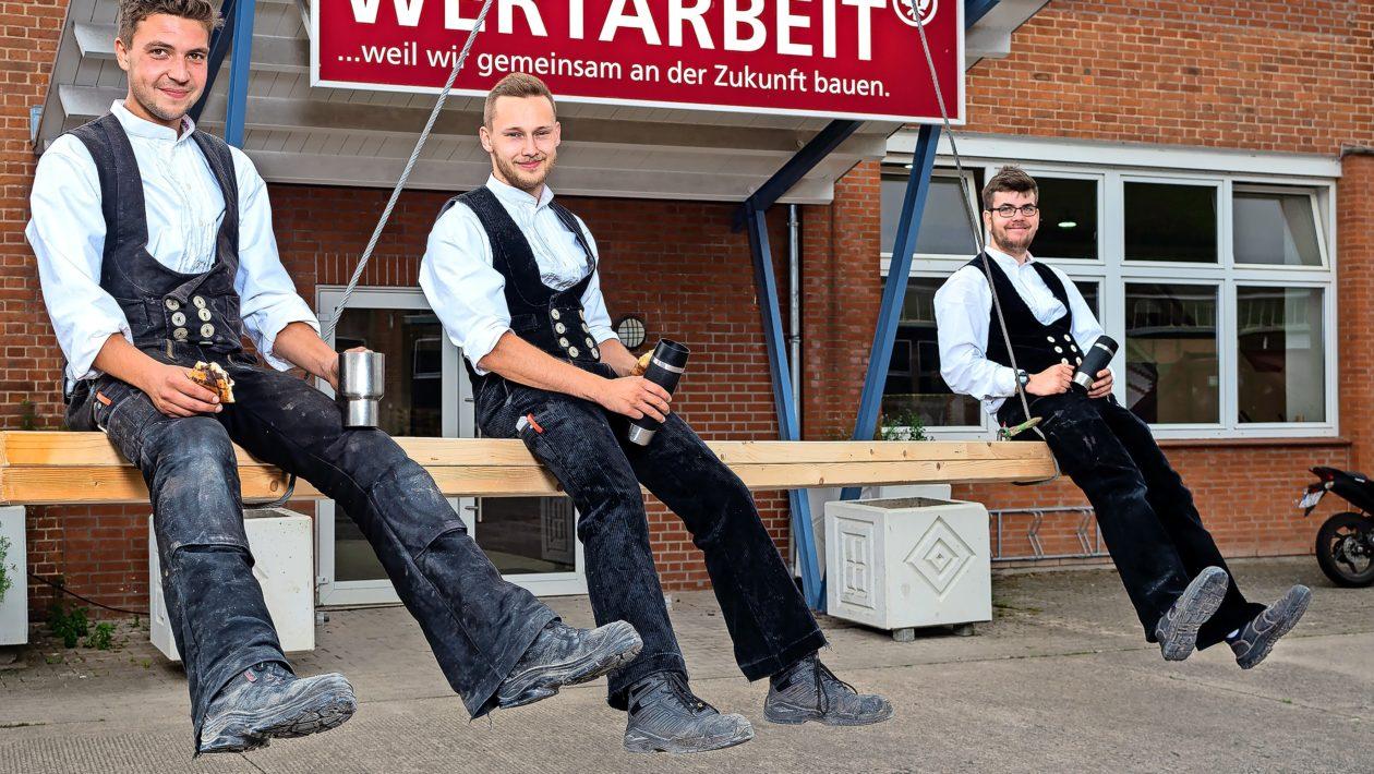 Es gibt noch freie Ausbildungsplätze im Lübecker Baugewerbe.Hier sind die Bauberufe mit Zukunft, die Laune machen.