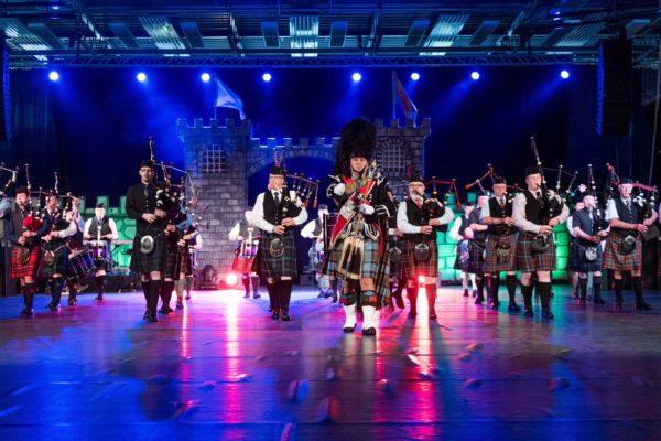 """Keltischen Zauber und schottische Lebensfreude - """"THE SCOTTISCH MUSIC PARADE"""" – das Original aus Edinburgh,kommt mit neuem Programm nach Lübeck in die MuK"""