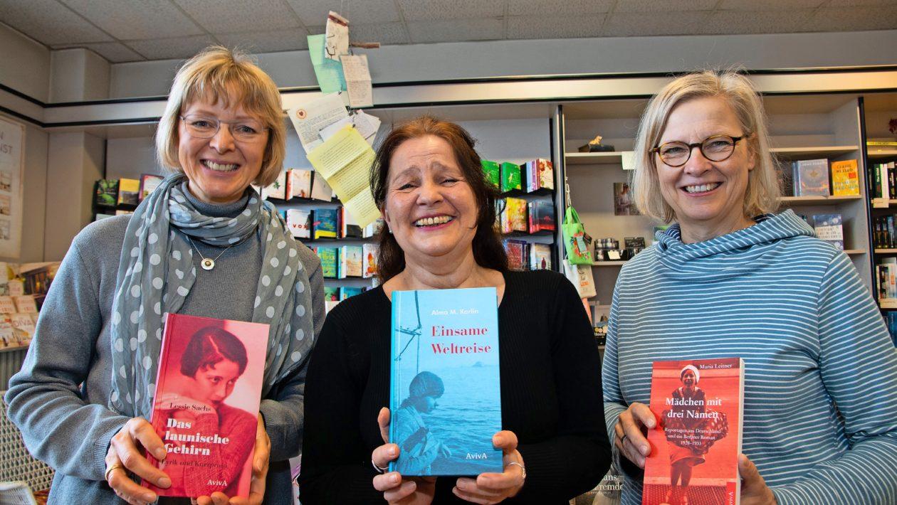 """Unter dem Titel """"Vom Aufbruch der Frauen – Weltreisende, Journalistinnen und Schriftstellerinnen"""" gibt es eine Lesung des AvivA-Verlags im Rathaussaal."""