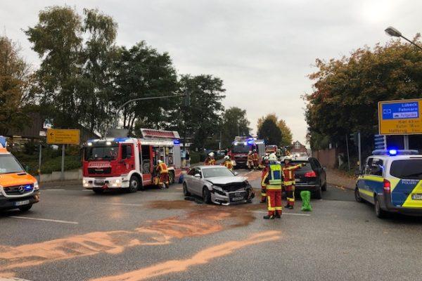 Verkehrsunfall Scharbeutz B76