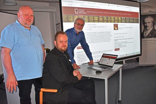 Digitalisierung Eutiner Landesbibliothek